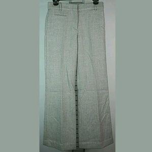 Bcbgmaxazria wool pants wide leg 0 gray